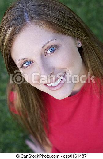 美しい, 女 - csp0161487