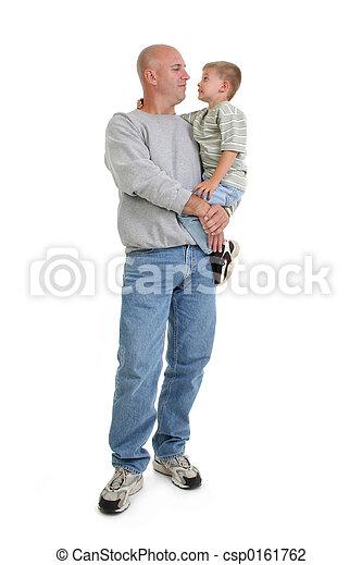 Father Son Family - csp0161762