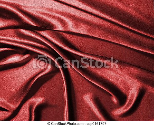 Red silk - csp0161797