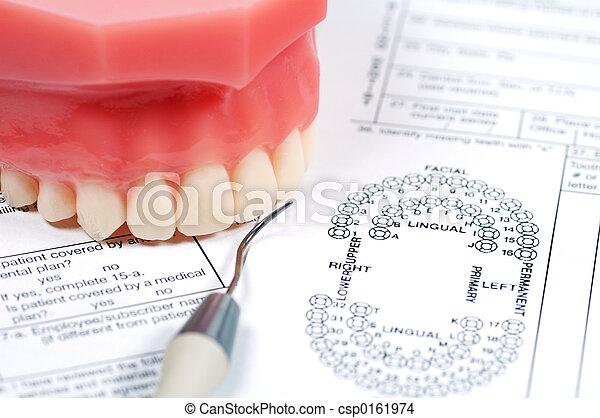 dentaire, Formulaire - csp0161974