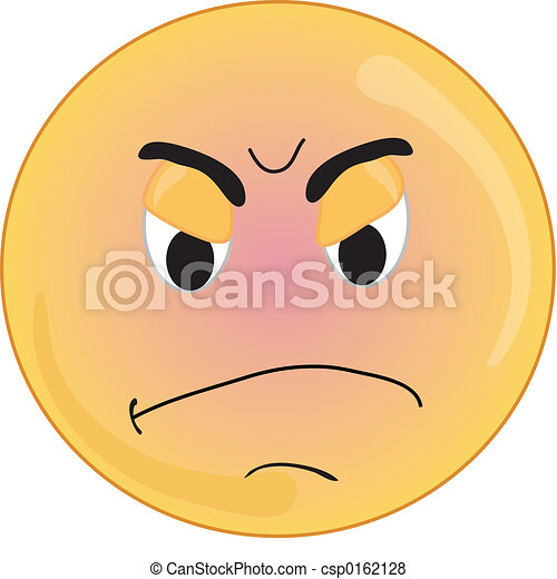 Angry Face Clipart Angry Face Smiley Type Angry