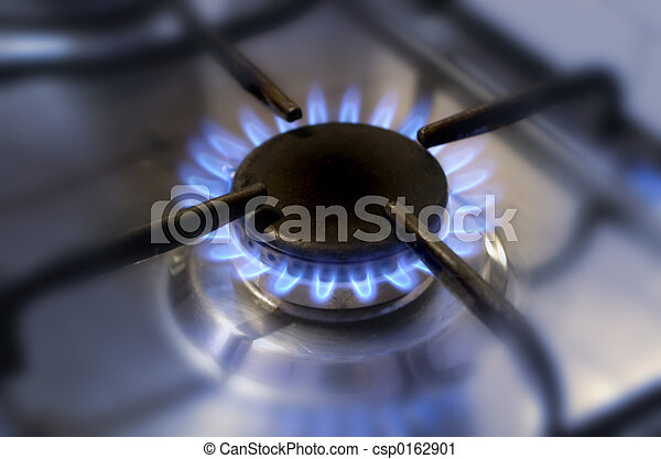 kitchen gas flame-2 - csp0162901