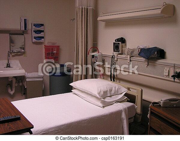 Hospital Room - csp0163191