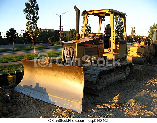 Waiting dozer - csp0163402