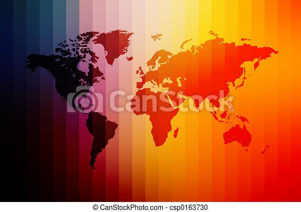 World Map - csp0163730