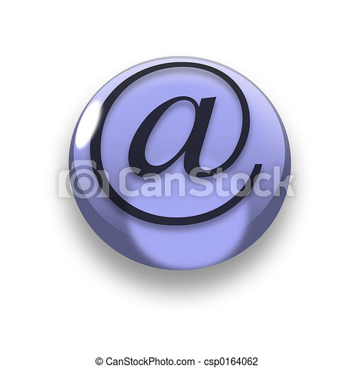 3D email button - csp0164062