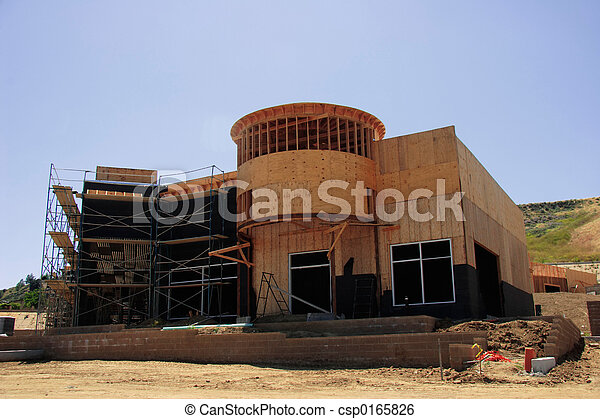 construção, sob - csp0165826