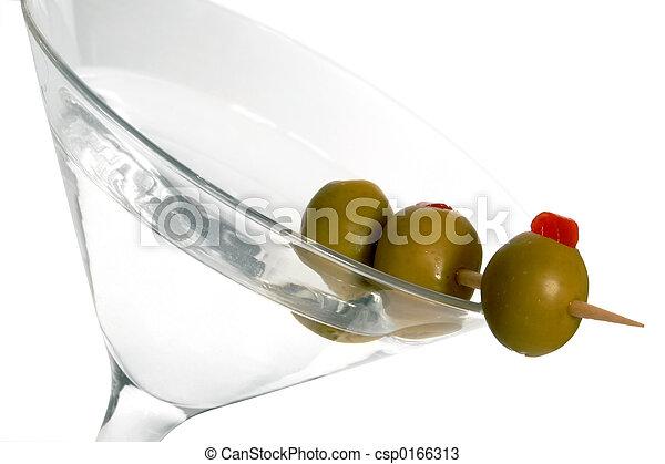 Three Olive Martini - csp0166313
