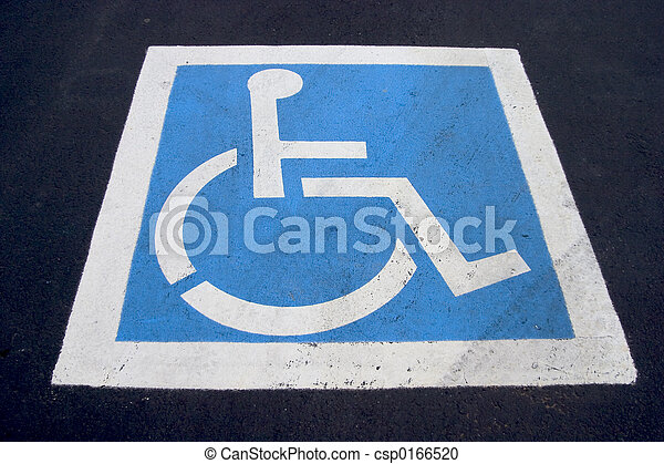 Handicap Parking Spot - csp0166520