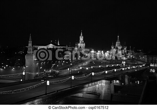 skyline moscow - csp0167512