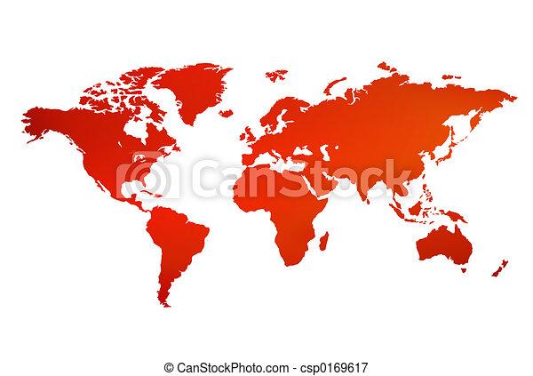 World map - csp0169617