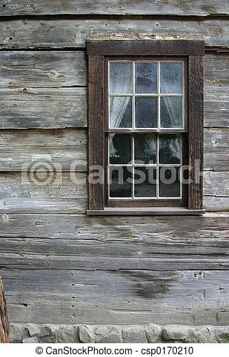 Rustic Window 1 - csp0170210