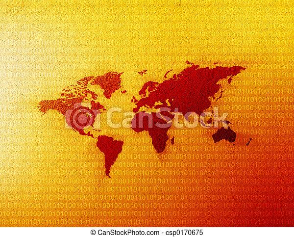 World Map - csp0170675