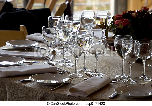 Table Setting #1 - csp0171423