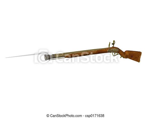 Flintlock Rifle - csp0171638