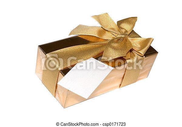 Gift Box Of Chocolates