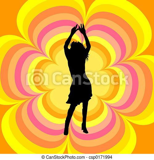 Female dancing - csp0171994
