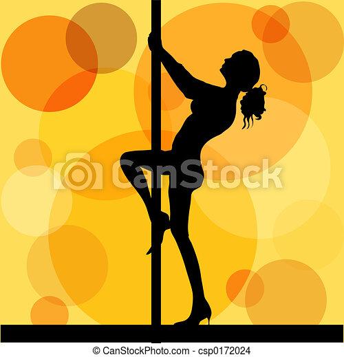 Pole dancer - csp0172024
