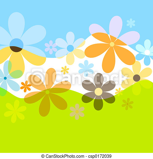 Summer flowers - csp0172039
