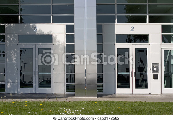 Two Corporate Doors - csp0172562