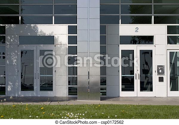 Two Corporate Doors - csp0172562
