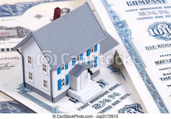 hausfinanzierung - csp0172610