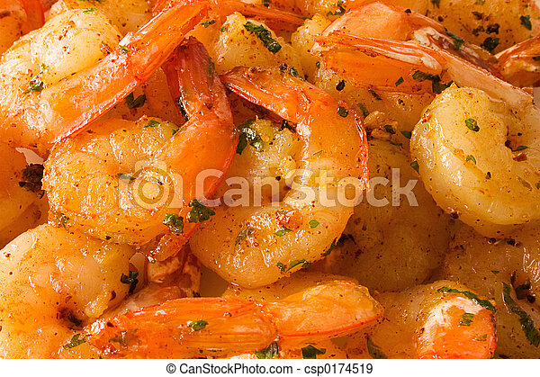 Cooked shrimps - csp0174519