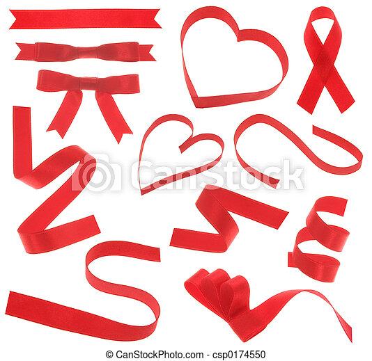 red ribbon - csp0174550
