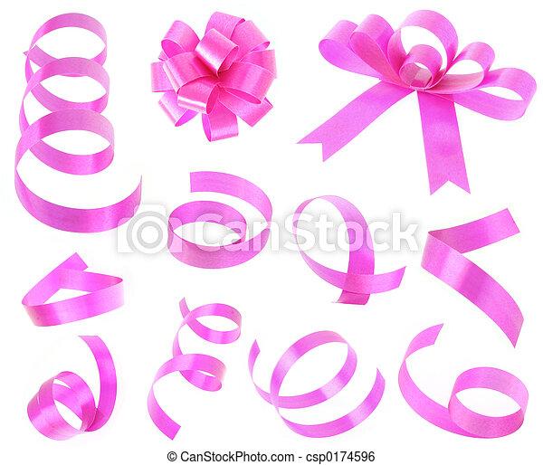 magenta ribbon - csp0174596