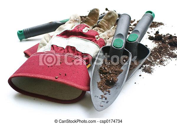 Gardening gloves - csp0174734