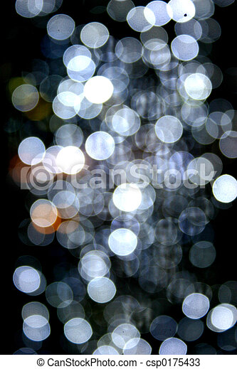 Blurred fairy lights for background use.