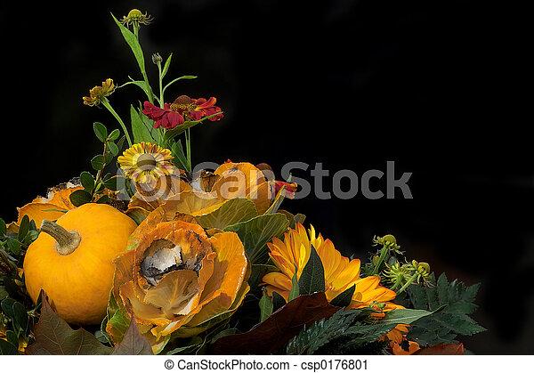 photographies de automne floral composition floral composition fleurs csp0176801. Black Bedroom Furniture Sets. Home Design Ideas