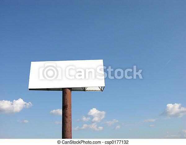Blank Billboard - csp0177132