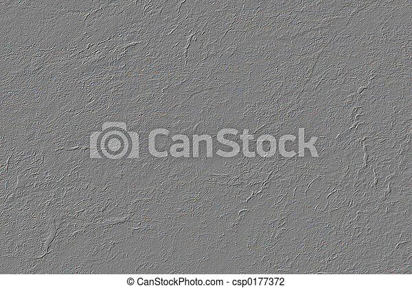 Gray Stucco Texture - csp0177372