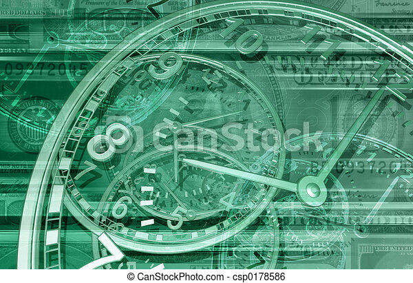 Time is Money 01 BG - csp0178586