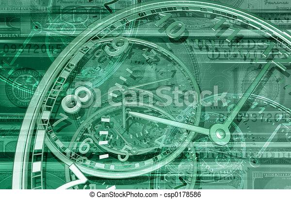 Time is Money 01 BG - csp0178586