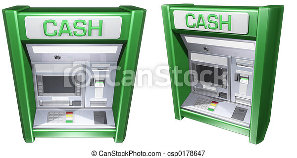 Cash Machine ATM - csp0178647
