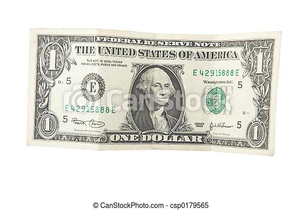 one dollar - csp0179565