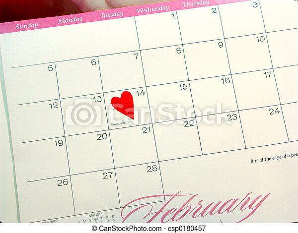 valentine\'s, jour - csp0180457