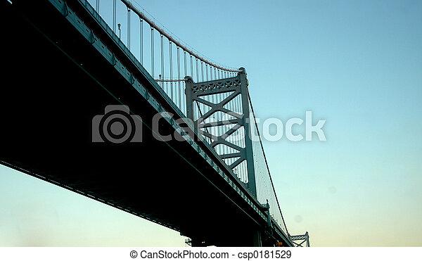 Ben Franklin bridge - csp0181529