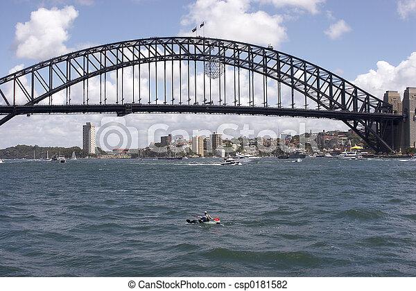Sydney Harbour Bridge - csp0181582