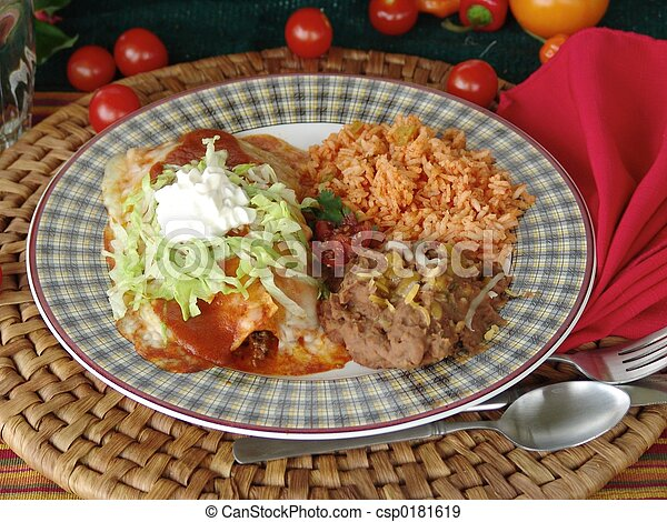 Mexican Food - csp0181619