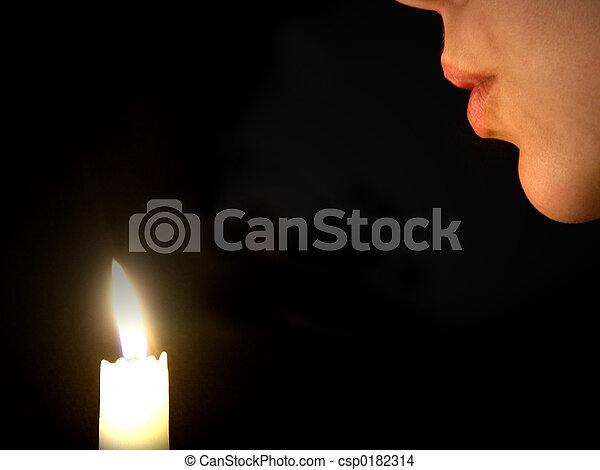 Making A Wish - csp0182314