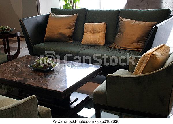Living room - csp0182636