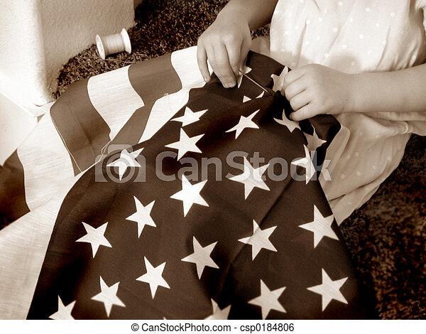 Retro Patriotism 2 - csp0184806