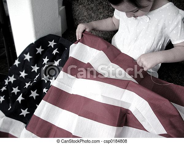 Retro Patriotism - csp0184808
