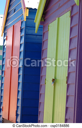 Brighton Beach. - csp0184886