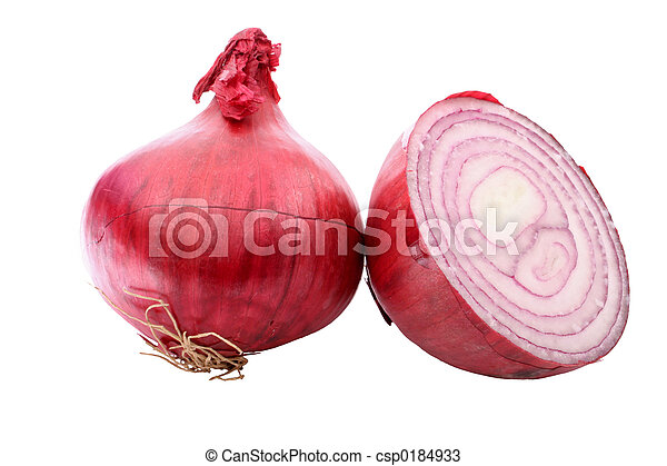 Red Onion - csp0184933