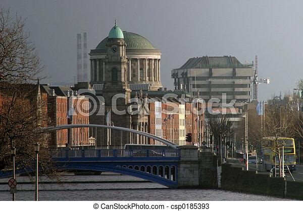 Dublin Landmarks - csp0185393