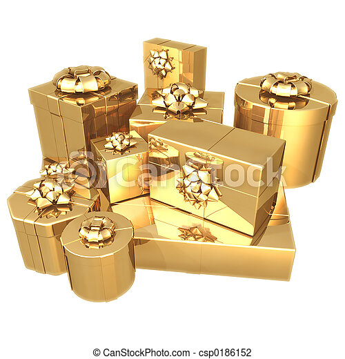 Gilded Presents 01 - csp0186152